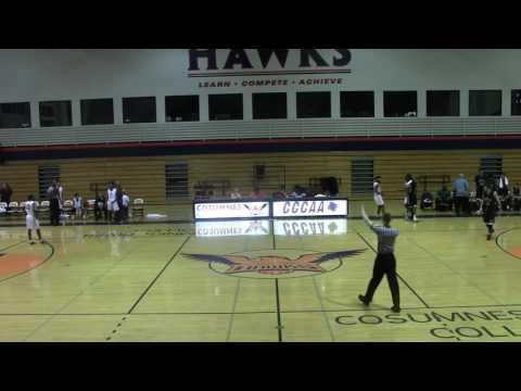 Cosumnes River vs. Diablo Valley College Men's Basketball FULL GAME 1/22/15