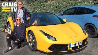 Surprising my Dad with a Ferrari 488 - Living with a Ferrari 488 Part Two