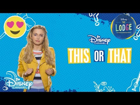 The Lodge  Sophie Simnett: This Or That   Disney Channel UK