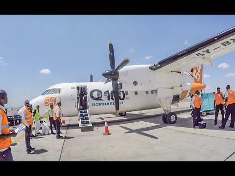 Fly540 DHC-8-102 Malindi MYD to Nairobi NBO