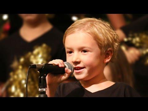 His First Choir Solo