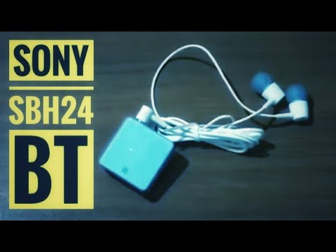 Sony Sbh24 Bluetooth Headset Unboxing And Review Youtube