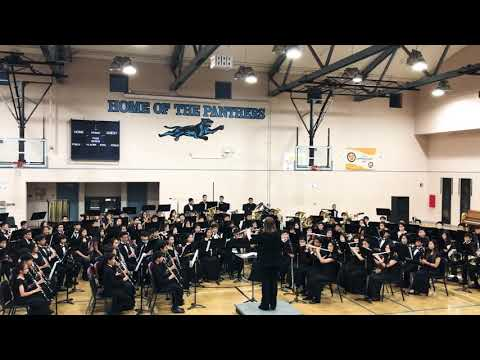 2018 South Pointe Middle School Wind Ensemble End of Year Concert
