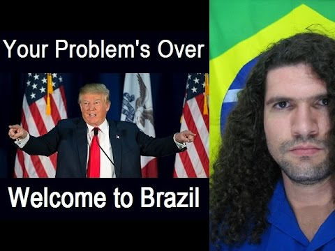 Brazil, MultiRacial dream come true - vote Donald Trump