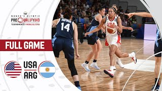 USA v Argentina - Full Game - FIBA Women