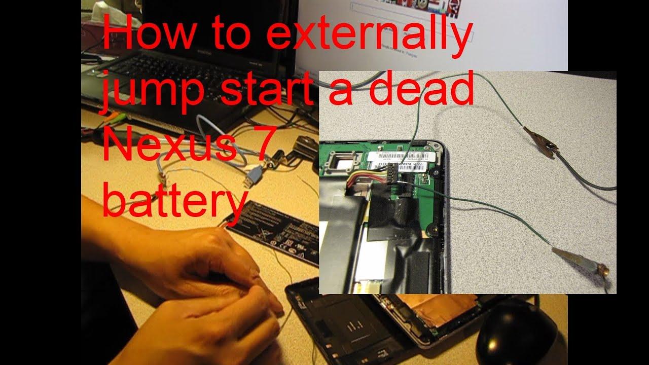 externally jump start your dead nexus 7 final solution when all else fails  [ 1280 x 720 Pixel ]