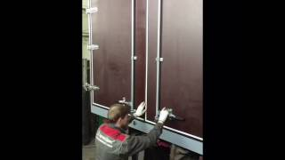 видео Ворота на фуру