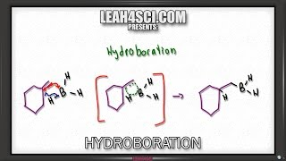 Hydroboration Oxidation of Alkenes Reaction and Mechanism: Alkene Vid 10