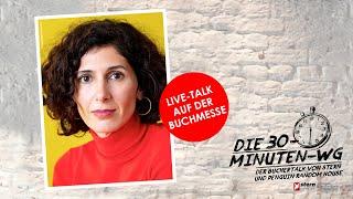 Nava Ebrahimi über »Das Paradies meines Nachbarn«   Die 30-Minuten-WG   Frankfurter Buchmesse 2021