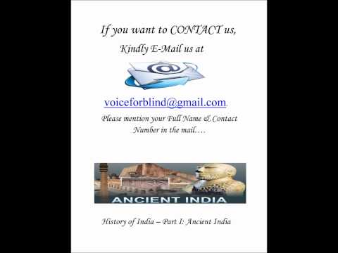 G.K. Facts For Blind Students - History Of India Part- 1 in Hindi By (Anita Sharma)