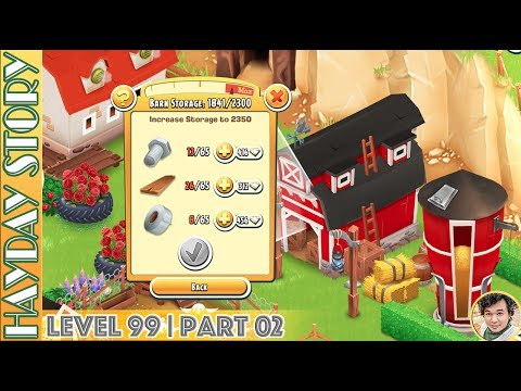 Some Ideas To Update Barn Storage To 2300 in Hay Day Level 99 | Part 02