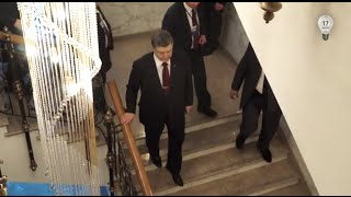 Минск утром. Порошенко покинул зал переговоров. Эксклюзив 17 канала