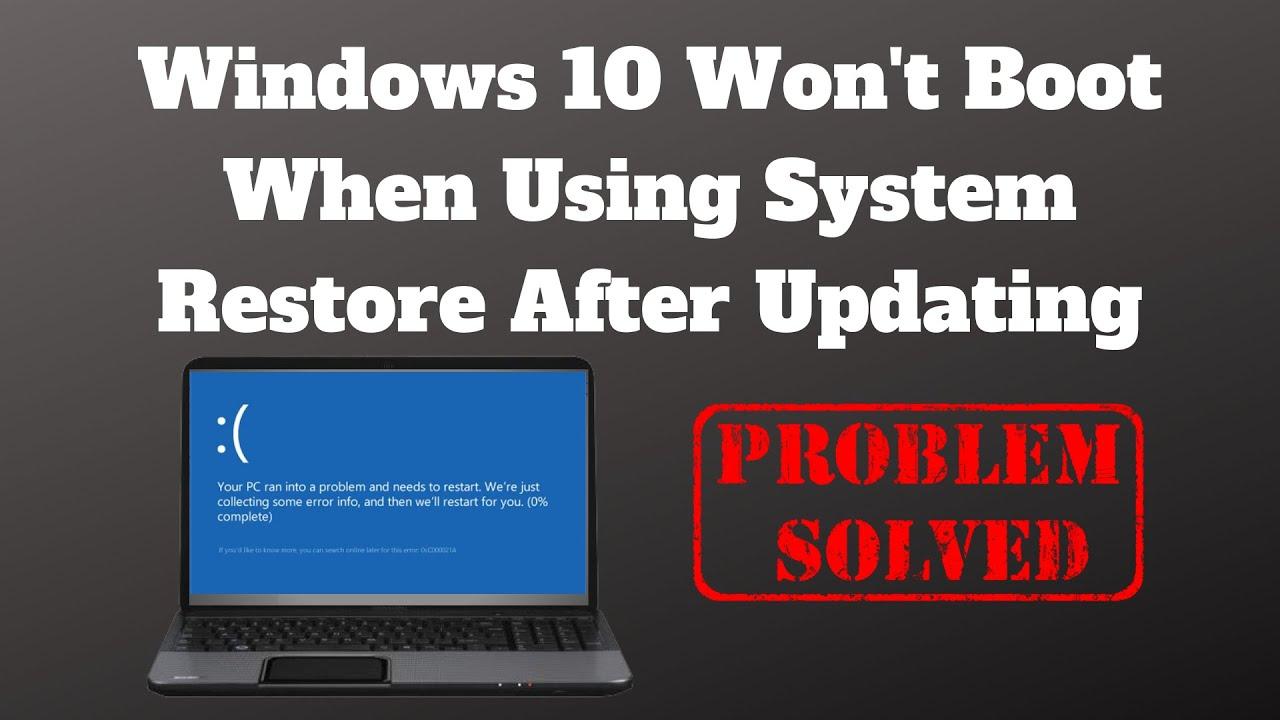 Windows 10 Freezes After Update 2019
