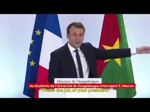 BEST OF Emmanuel Macron (THUG LIFE in Africa)