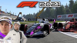 F1 2021 MY TEAM CAREER MODE Part 12 - PODIUM & NICO ROSBERG