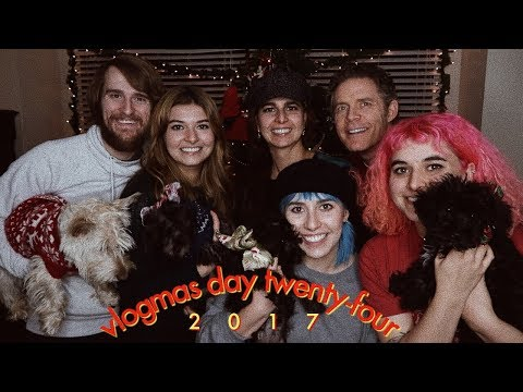 Christmas Eve & Family Gift Exchange | VLOGMAS day Twenty-Four 2017