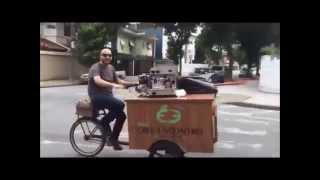 Bike Café Encontro pelas ruas de Santos