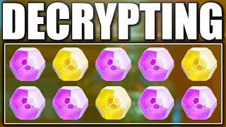 Destiny 2 - OPENING EXOTIC AND LEGENDARY ENGRAMS !!!