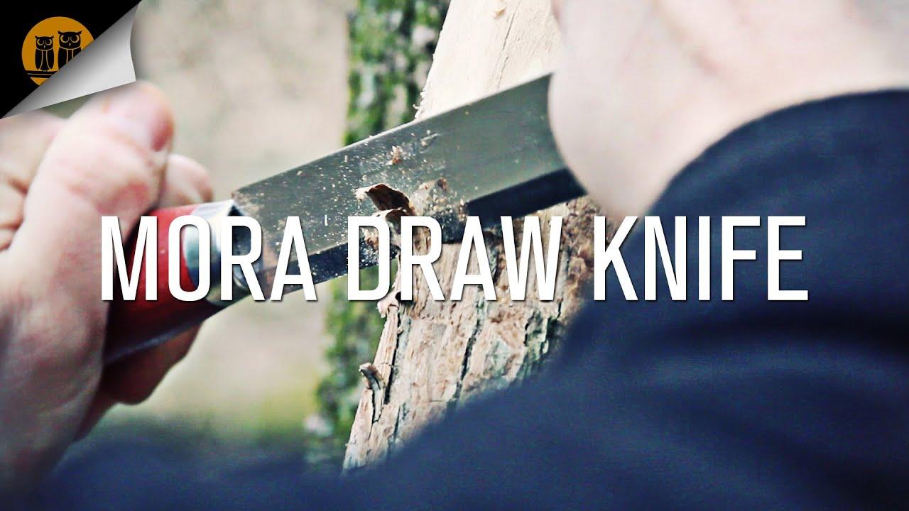 Mora Draw Knife   Bushcraft Knife   Field Review