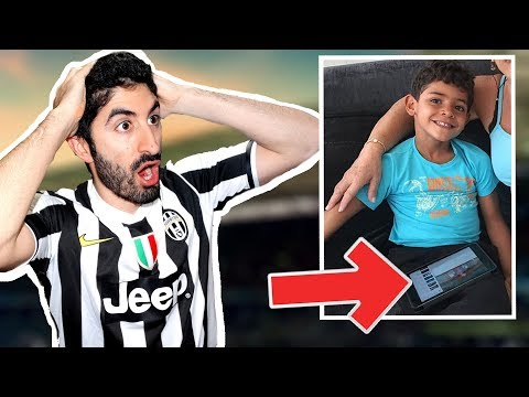 CRISTIANO RONALDO JR WATCHES MY VIDEOS?? | Broskie Reacts