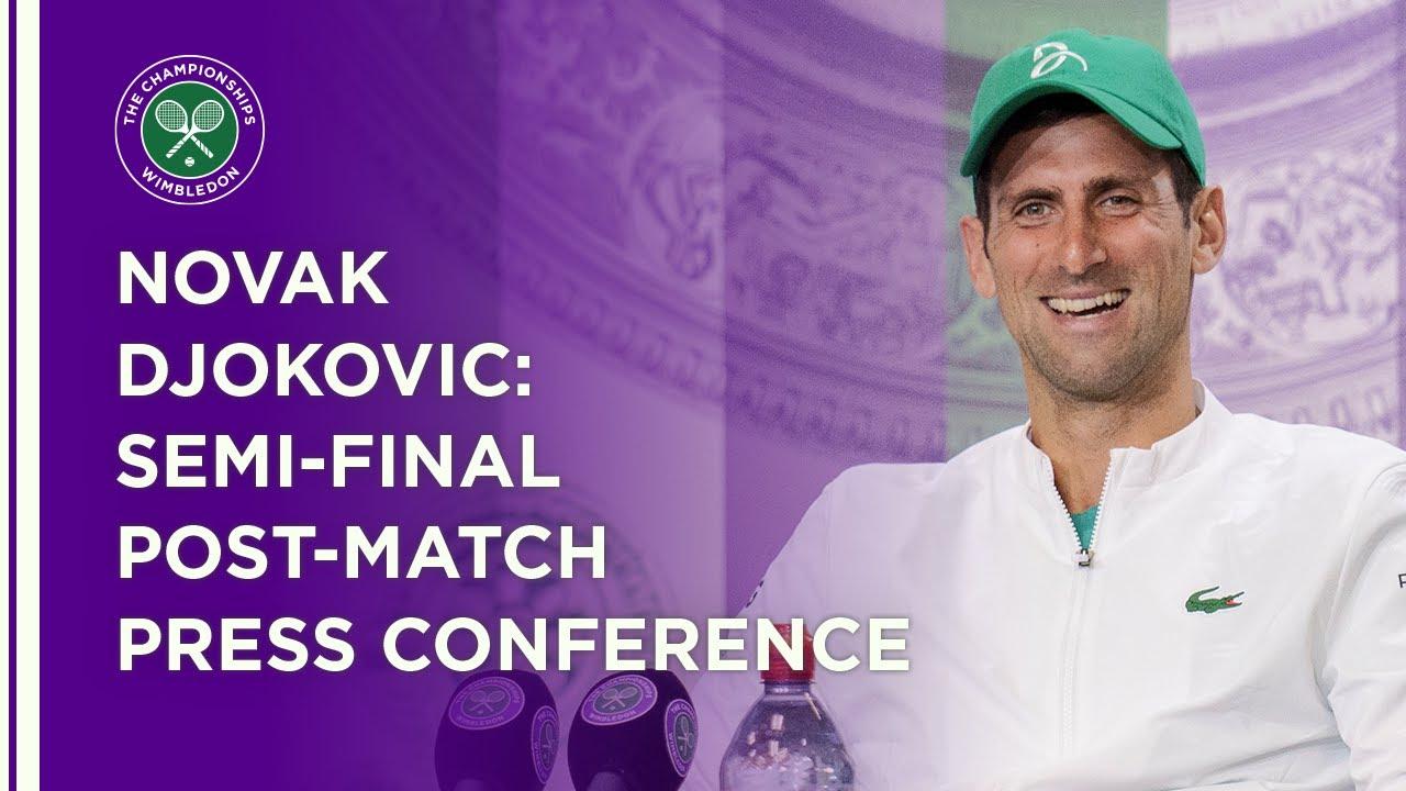 Novak Djokovic Semi-Final Press Conference | Wimbledon 2021