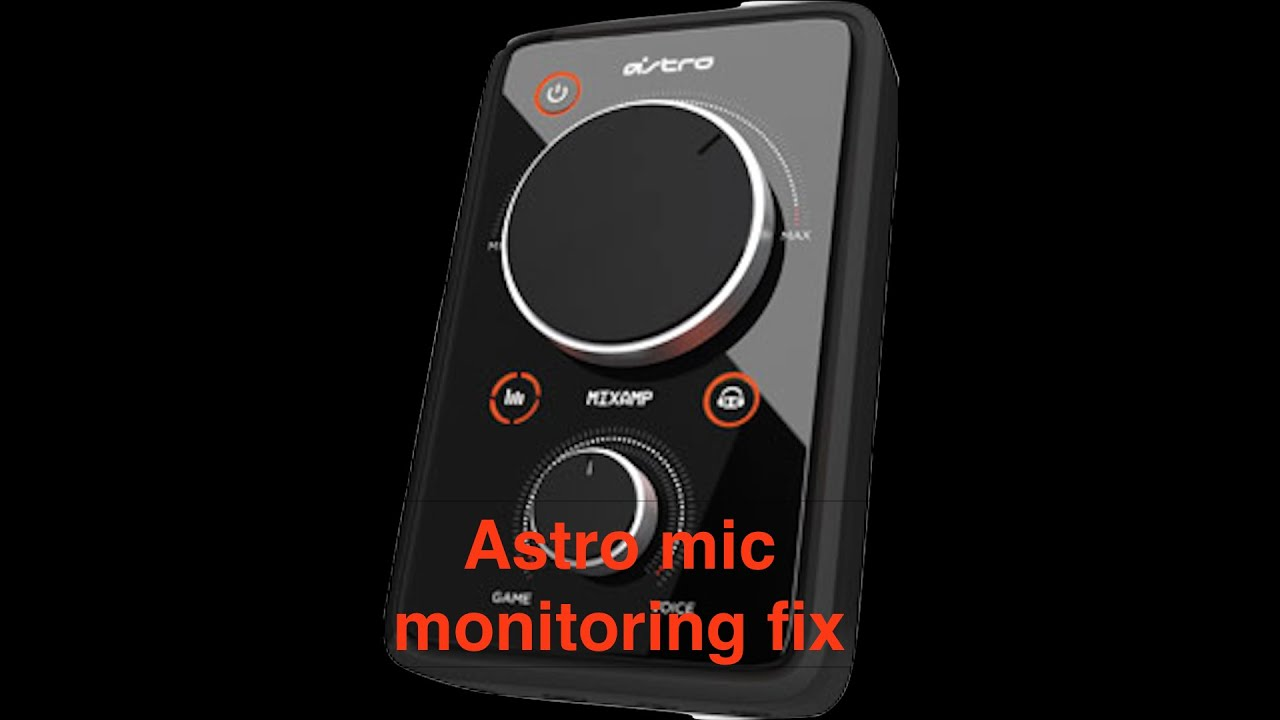 Astro a40 Mixamp Mic Monitoring too low Fix