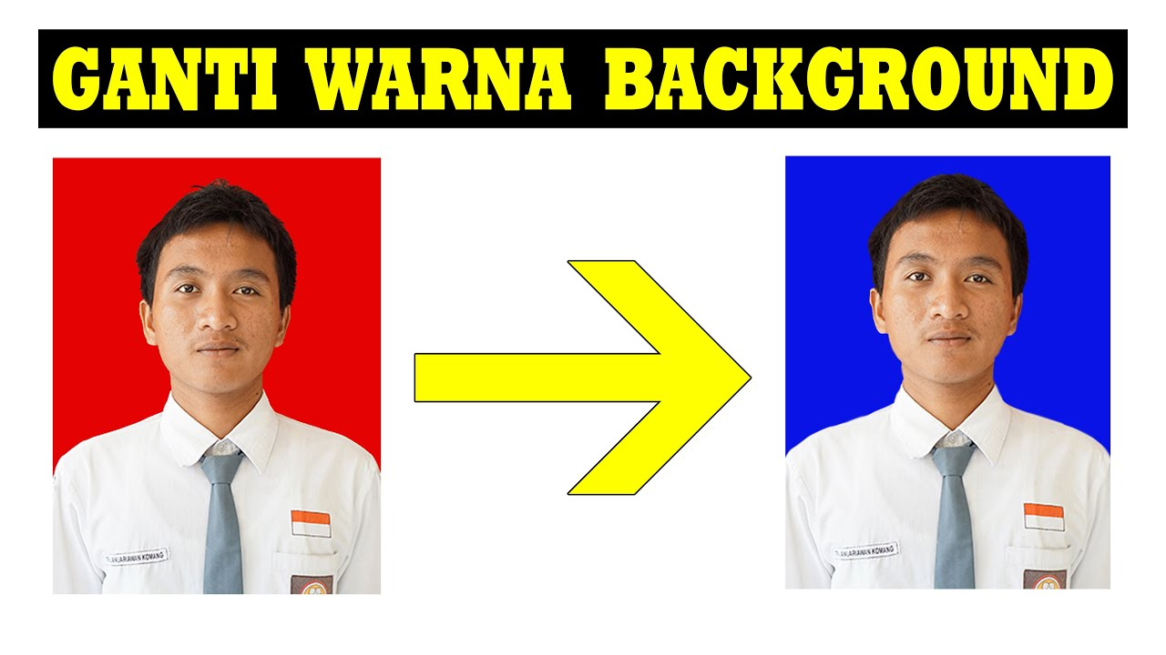 Cara Mengganti Warna Background Pas Foto Di Photoshop ...