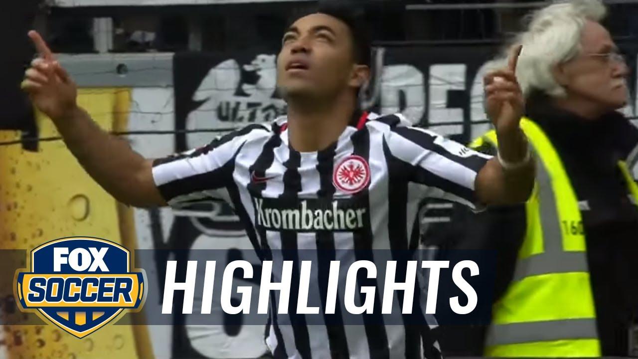 Marco Fabián's brace lifts Frankfurt over Augsburg   2016-17 Bundesliga Highlights