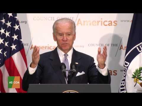 U.S. Vice President Joe Biden at 2013 Washington Conference