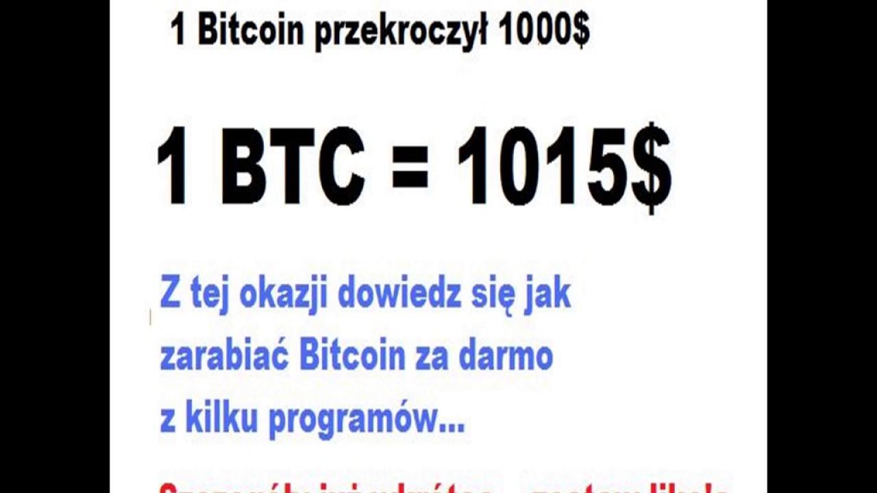 Kurs Bitcoin jak złoto ! – Dobry czas na inwestycje!