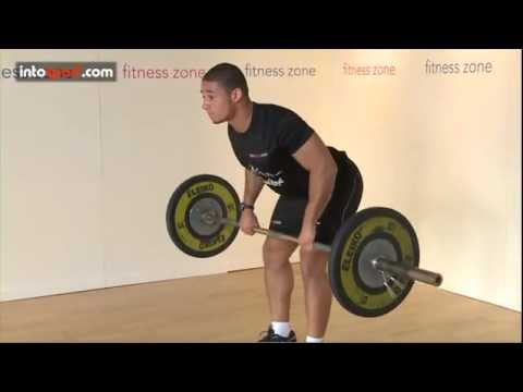 How to do a Barbell Row- Fitness Zone at intosport.com