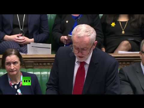 LIVE: MPs consider Corbyn's War Powers Act during emergency debate on Syria airstrikes