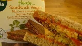 Mein Veggie Tag - Couscous Sandwich (Vegan)