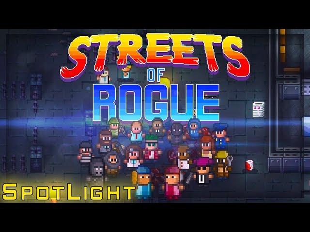 Streets of Rogue, Cop, Nurse and Axe! - Spotlight!!