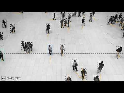 Isarsoft Video Analytics for People Counting