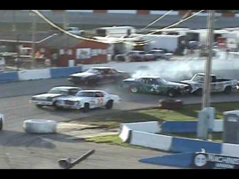 Vian, Winchel & Schaller Sandwich @ La Crosse Speedway 071109