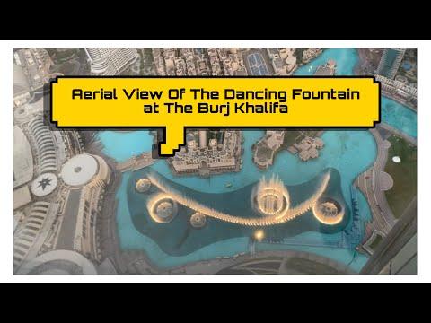 Vlog #7: Aerial View of The Dubai Fountain