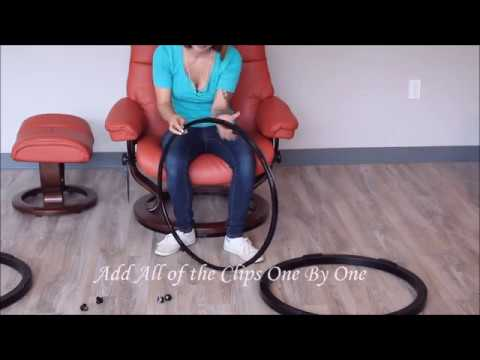 How To Attach Two Elevator Rings To A Stressless Recliner