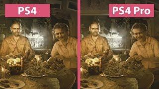 4K UHD | Resident Evil 7 – PS4 vs. PS4 Pro 4K Mode Graphics Comparison