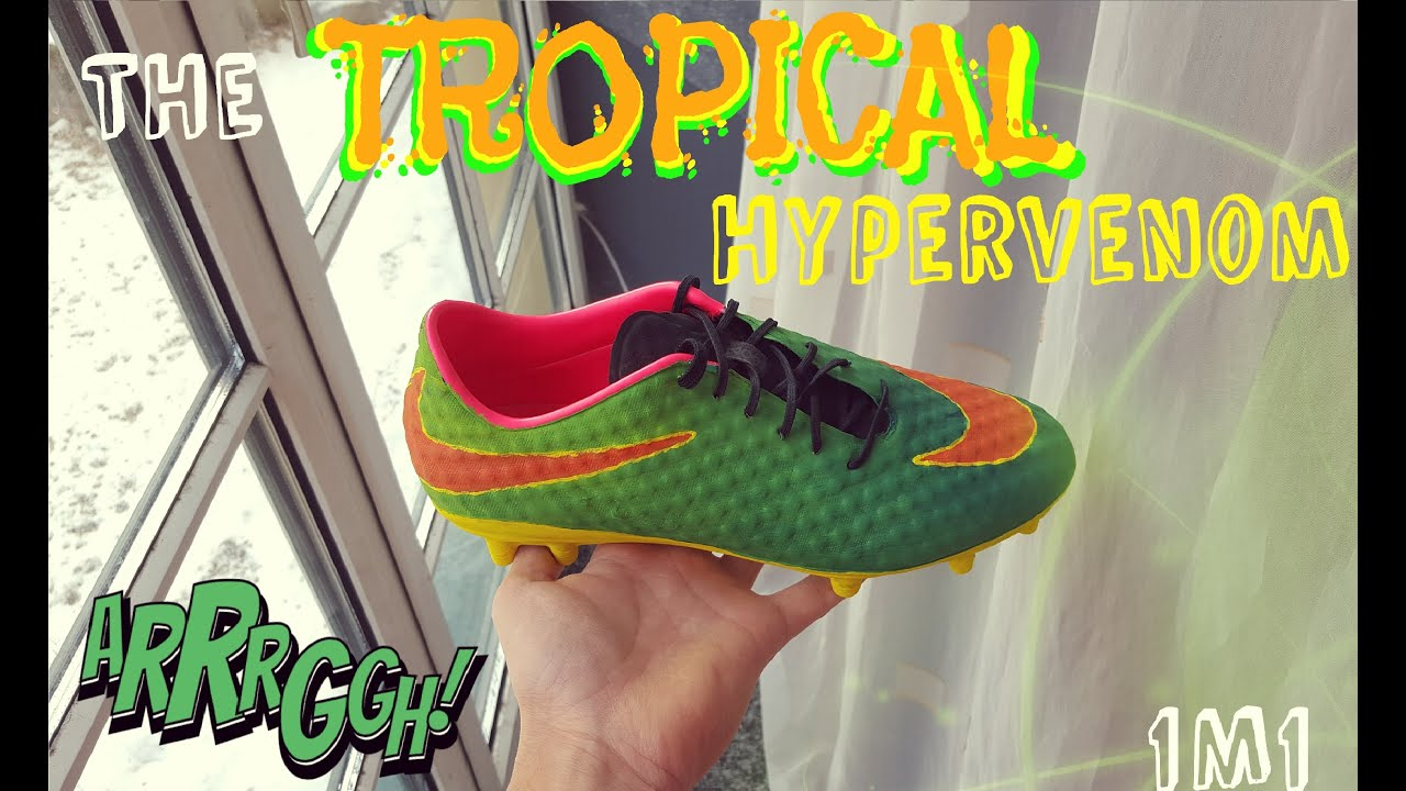 Nike Hypervenom Phantom  Neymar Custom Tropical I M Design Paint
