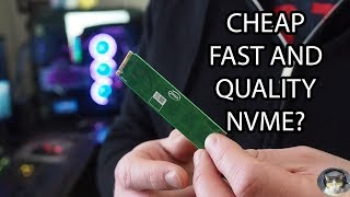 Intel 660P Unboxing and Review 1TB