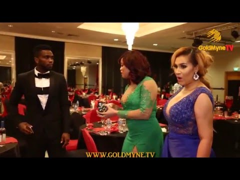 JOSEPH YOBO AND HIS WIFE, STEP OUT FOR  THE MOVIE PREMIERE OF 'STALKER'