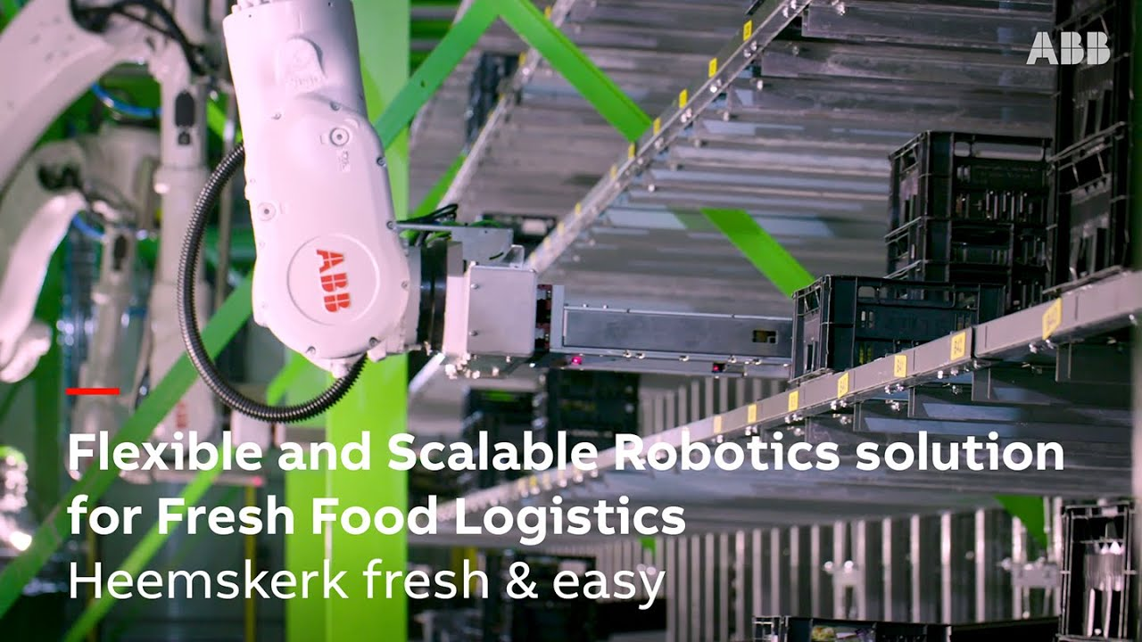 Heemskerk delivers fresh, healthy food quickly and sustainably with ABB robots