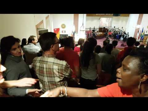 Gospel choir in Bethel gospel assembly - West Harlem New York - Part3