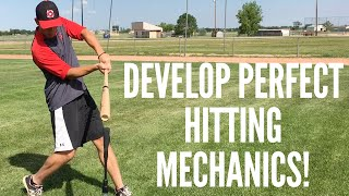 2 Simple Drills to Develop Perfect Baseball Hitting Mechanics!