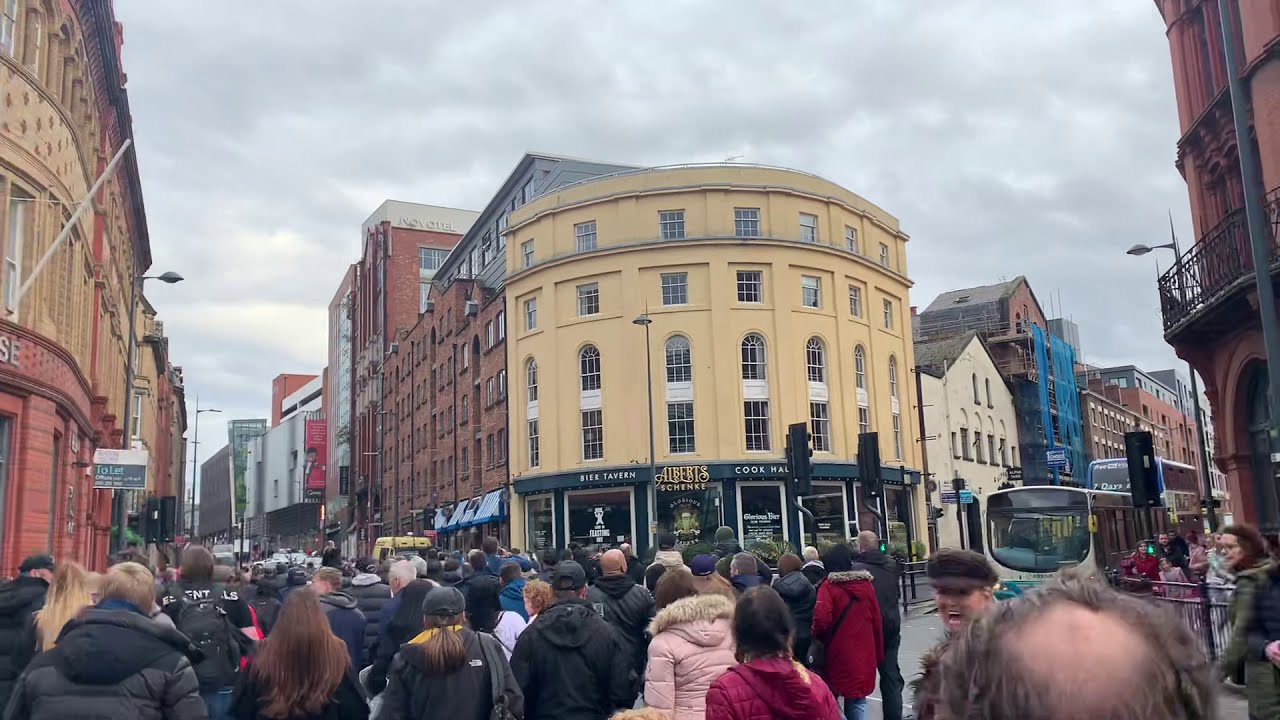 Liverpool March for Freedom - Peaceful Protest / Lockdown 2.0