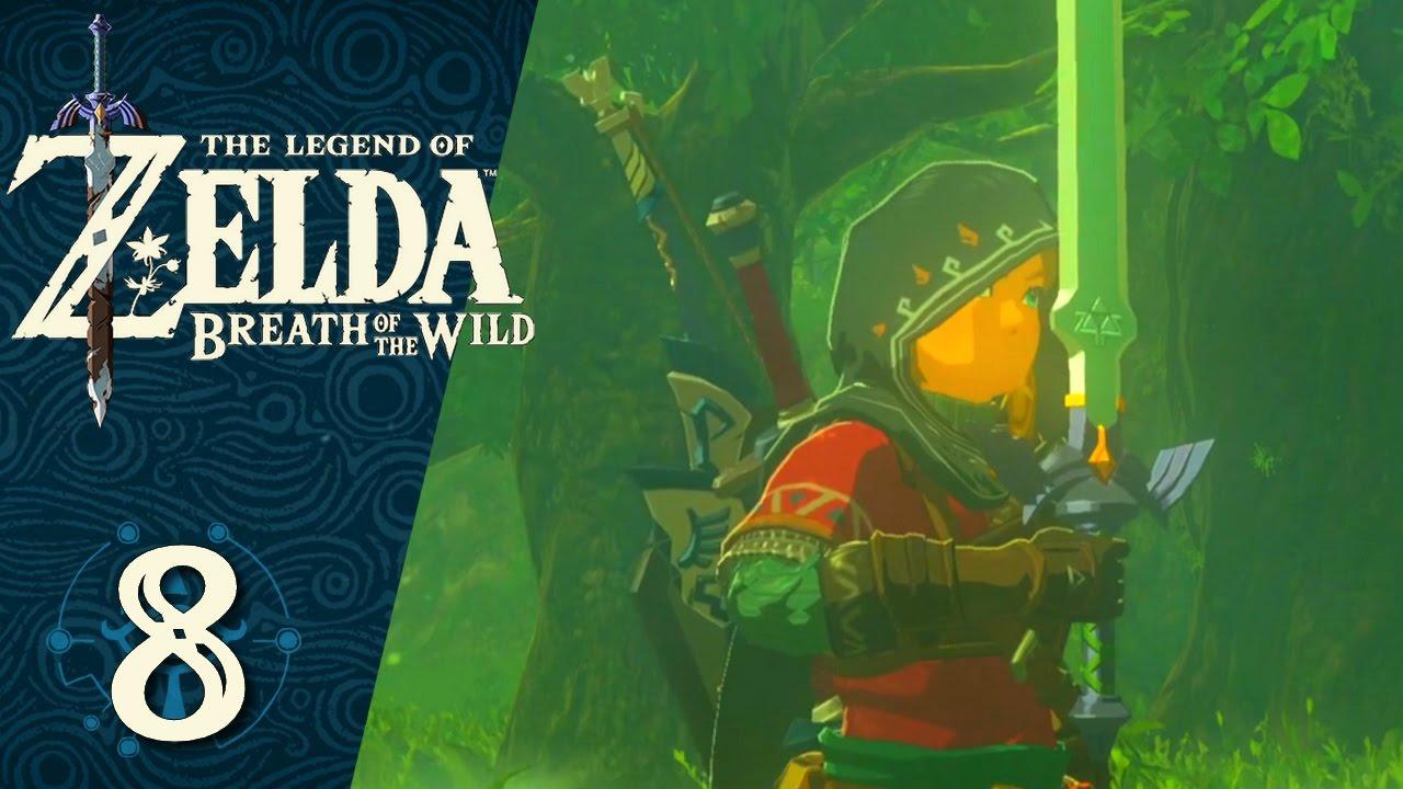 Zelda Breath of the Wild #8 FR - L'Épée de Légende ! - YouTube