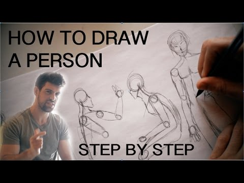 How To Draw Person Step By Step For Beginners