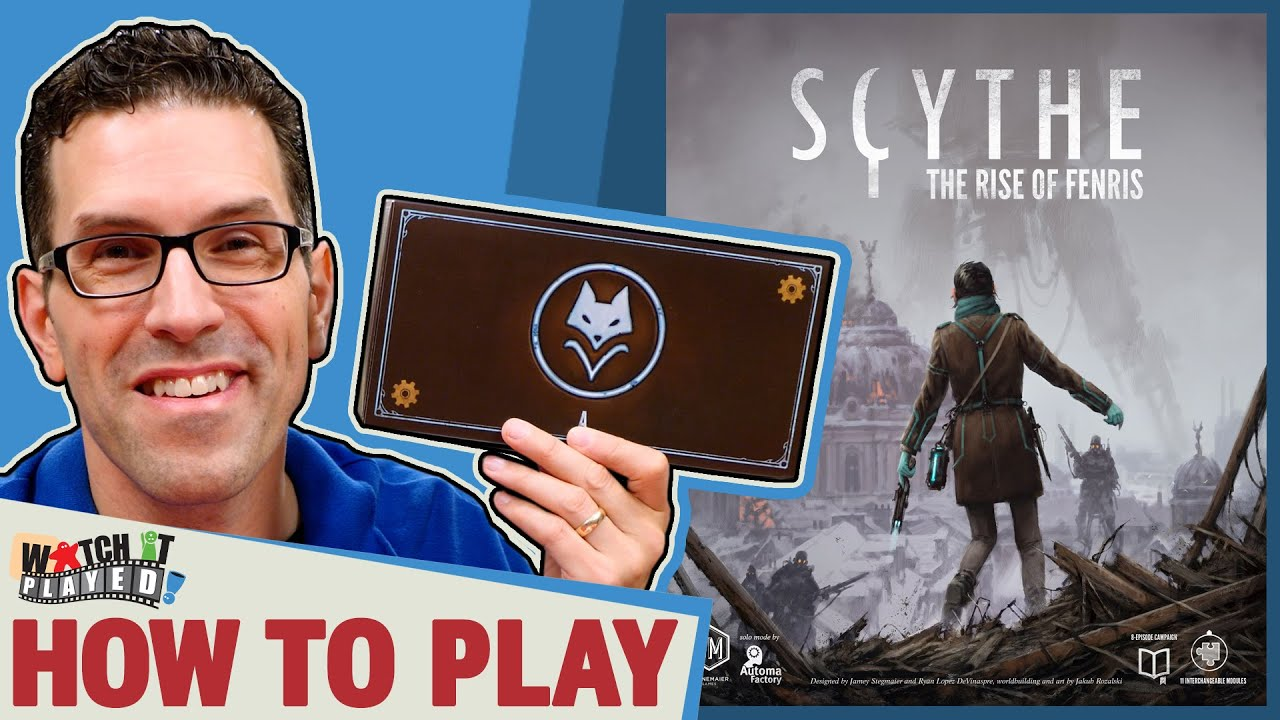 Scythe The Rise of Fenris Solo Cooperative 8 Episode Campaign Board Game STM637