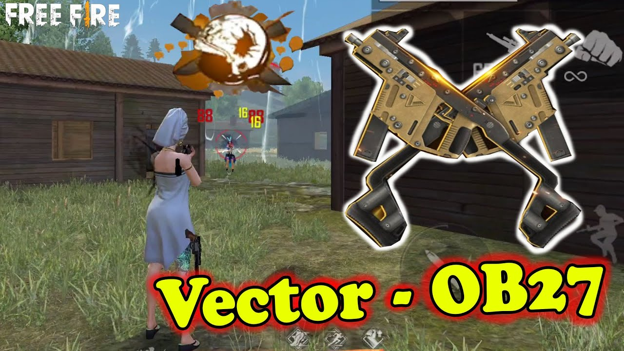 Vô Game Được Rồi, Test Gói Đồ VQMM Vàng Trong OB27, Vector Còn Mạnh Không ? | Free Fire